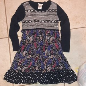 Girls sz 14 Bonnie jean sweater dress like new